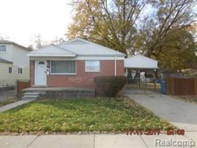 4662 Pelham Street, Dearborn Heights, MI 48125 - MLS#: 218015010