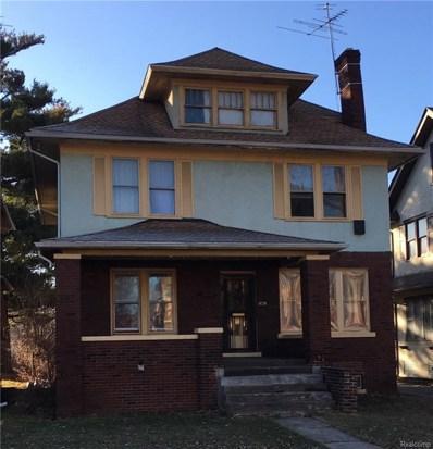 1675 Edison Street, Detroit, MI 48206 - MLS#: 218015460
