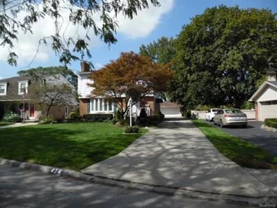 424 Riverside Drive, Wyandotte, MI 48192 - MLS#: 218015900
