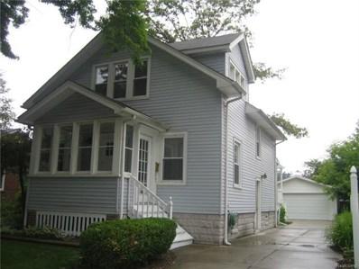 1803 W Farnum, Royal Oak, MI 48067 - MLS#: 218016530