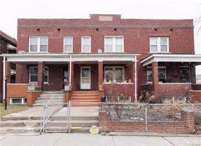 1706 Campbell Street, Detroit, MI 48209 - MLS#: 218017975