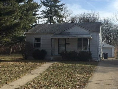 16636 Wormer, Detroit, MI 48219 - MLS#: 218018454