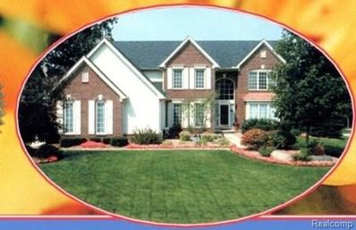 4111 Blue Heron Drive, Auburn Hills, MI 48326 - MLS#: 218020534
