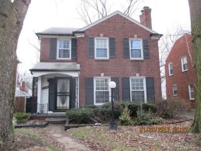 19176 Manor Street, Detroit, MI 48221 - MLS#: 218020941
