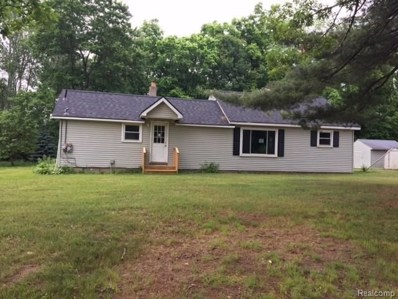 4774 Five Lakes Road, North Branch Twp, MI 48461 - MLS#: 218023002