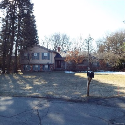 7455 Wellbourne Court, Bloomfield Twp, MI 48301 - MLS#: 218023839