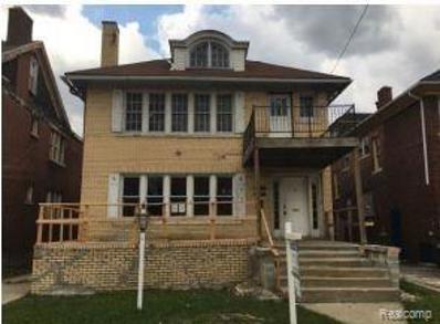 2019 Calvert Street, Detroit, MI 48206 - MLS#: 218024075