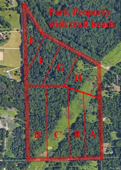 Pontiac Lake Parcel G Road, White Lake Twp, MI 48329 - MLS#: 218025436