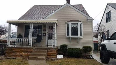 4172 Hazel Avenue, Lincoln Park, MI 48146 - MLS#: 218025750