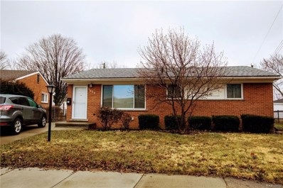 1857 Chaucer Avenue, Madison Heights, MI 48071 - MLS#: 218025781