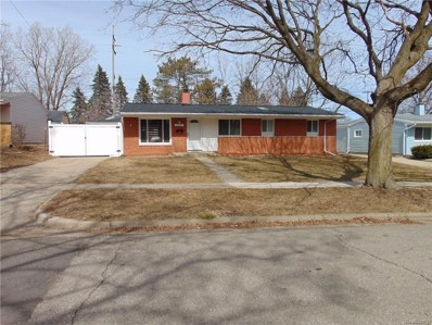 2831 Canterbury Road, Ann Arbor, MI 48104 - MLS#: 218026708
