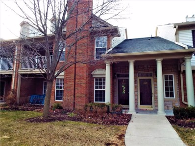 3565 Tremonte Circle S UNIT 244, Rochester, MI 48306 - MLS#: 218026906