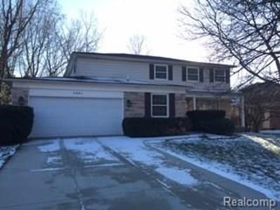 2891 Powderhorn Ridge Road, Rochester Hills, MI 48309 - MLS#: 218028036
