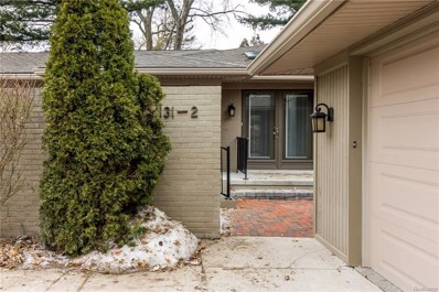 131 E Long Lake Road UNIT 2, Bloomfield Hills, MI 48304 - MLS#: 218029611