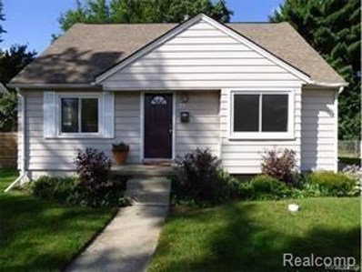 2109 E Eleven Mile Road, Royal Oak, MI 48067 - MLS#: 218029645