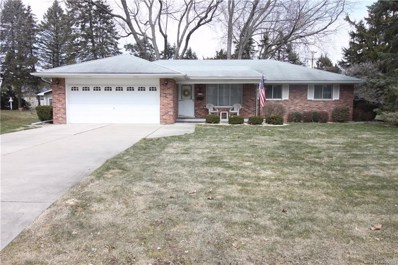 19955 Thousand Oaks Drive, Clinton Twp, MI 48036 - MLS#: 218030567
