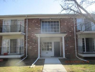 436 Fox Hills Drive S UNIT 7, Bloomfield Twp, MI 48304 - MLS#: 218030799