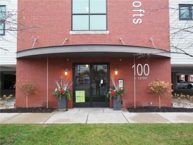 100 N Center Street UNIT 403, Royal Oak, MI 48067 - MLS#: 218031349