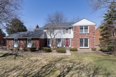 1017 Great Oaks Boulevard, Rochester, MI 48307 - MLS#: 218031824