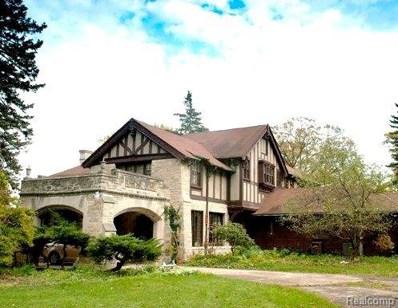 2455 N Lake Angelus Rd, Lake Angelus, MI 48326 - MLS#: 218033147