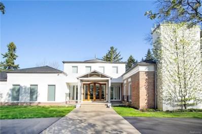 5635 Wing Lake Road, Bloomfield Twp, MI 48301 - MLS#: 218034190