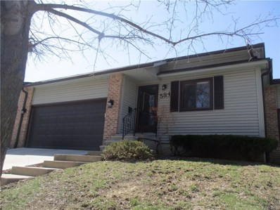 584 Oakbrook Circle UNIT 20, Flushing, MI 48433 - MLS#: 218034296