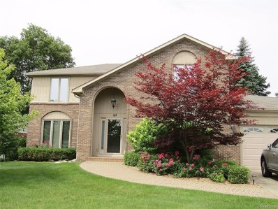 117 Rose Brier Drive, Rochester Hills, MI 48309 - MLS#: 218034971