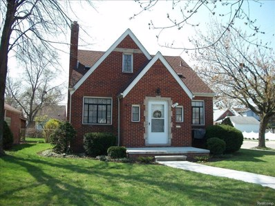 877 Riverbank Street, Lincoln Park, MI 48146 - MLS#: 218035847