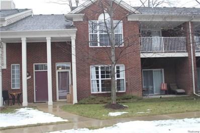 1713 Deepwood Circle, Rochester, MI 48307 - MLS#: 218036070