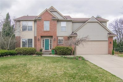 1714 Cardinal Ridge, West Bloomfield Twp, MI 48324 - MLS#: 218036346