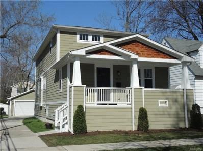 1817 N Lafayette, Royal Oak, MI 48073 - MLS#: 218037227