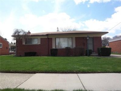 13484 Lowe Drive, Warren, MI 48088 - MLS#: 218037455