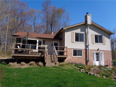 4858 Piersonville Road, Marathon Twp, MI 48421 - MLS#: 218037595
