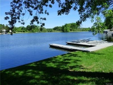 2609 Canal Drive, Wolverine Lake Vlg, MI 48390 - MLS#: 218037659