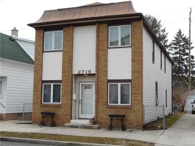 2716 10TH Street, Wyandotte, MI 48192 - MLS#: 218038411