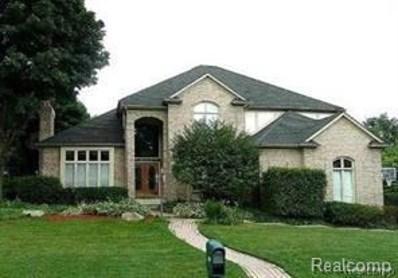 3733 Merriweather Lane, Rochester Hills, MI 48306 - MLS#: 218039007