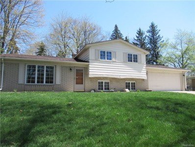 2878 Beacham Drive, Waterford Twp, MI 48329 - MLS#: 218039688