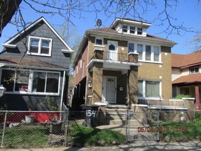 1541 Waterman Street, Detroit, MI 48209 - MLS#: 218039830