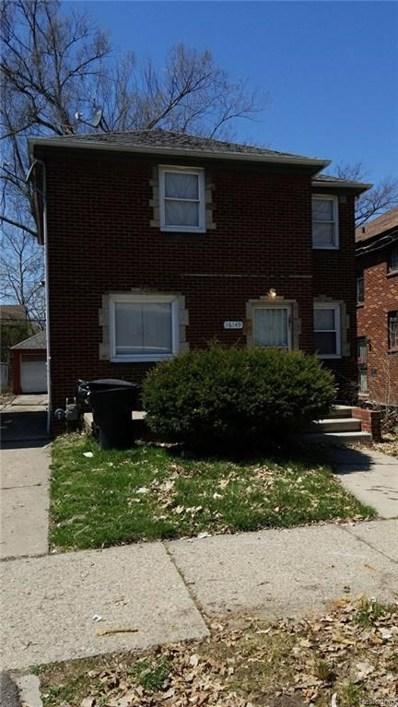 16149 Monte Vista Street, Detroit, MI 48221 - MLS#: 218040050