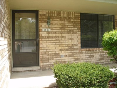 5549 Mansfield Avenue UNIT 7, Sterling Heights, MI 48310 - MLS#: 218040478