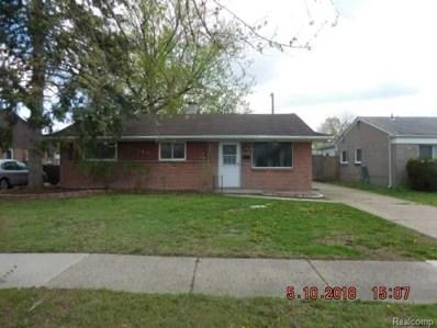 31053 Steinhauer Street, Westland, MI 48186 - MLS#: 218040746