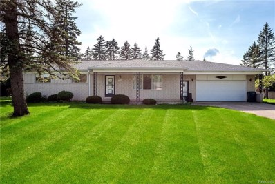 3849 Fernleigh Drive, Troy, MI 48083 - MLS#: 218041543
