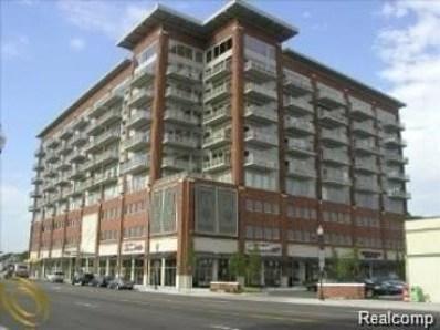 350 N Main Unit Street UNIT 810, Royal Oak, MI 48067 - MLS#: 218042082
