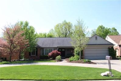 1431 Oakstone Drive, Rochester Hills, MI 48309 - MLS#: 218042857