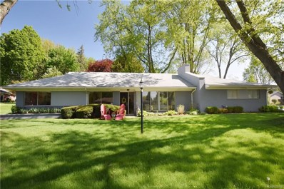 3620 Berkshire Drive, Bloomfield Twp, MI 48301 - MLS#: 218043075