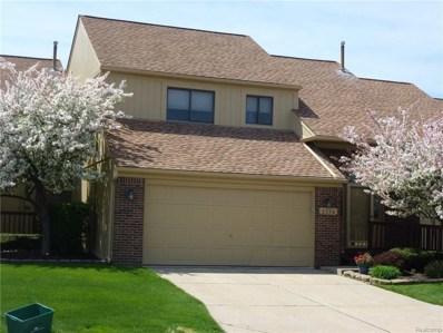 2176 Rochelle Park Drive UNIT 108, Rochester Hills, MI 48309 - MLS#: 218043076