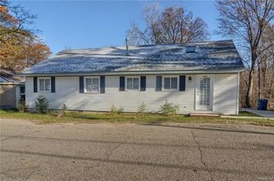 385 Lake View Drive, White Lake Twp, MI 48386 - MLS#: 218043537