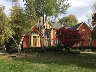 3656 Cedar Shake Drive, Rochester Hills, MI 48309 - MLS#: 218043611