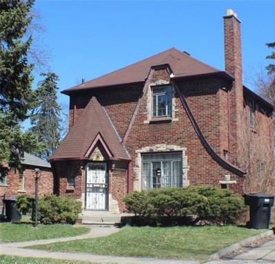 16544 Pierson Street, Detroit, MI 48219 - MLS#: 218043862