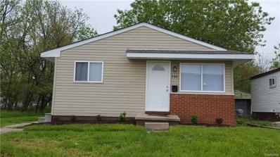 550 Luther Avenue, Pontiac, MI 48341 - MLS#: 218044182
